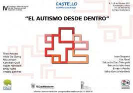 """IV Congreso Internacional """"El autismo desde dentro"""""""