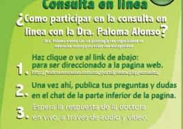 Primera consulta en linea – Dra. Paloma Alonso