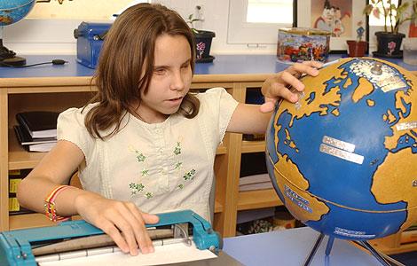 Noticias: Escolarización de alumnos con deficiencia visual