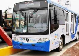 Adecuaciones para discapacitados en el Metrobús de la ciudad de Puebla en México cuestan 1,100 mdp