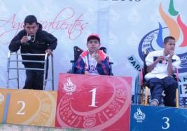Aguascalientes con nueve preseas en Atletismo de Parálisis Cerebral en la Paralimpiada Nacional 2013
