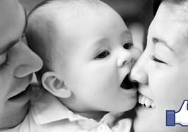 Bebé con síndrome de Down que iba a a ser abortado encuentra papás en Facebook