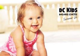 La niña modelo que tiene Síndrome de Down
