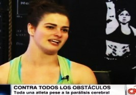 Una atleta con parálisis cerebral, ejemplo de vida