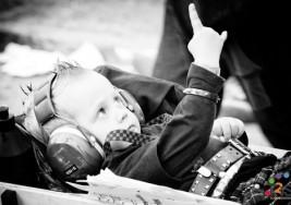 Músicos valencianos llevan su rock a un centro de niños con parálisis cerebral