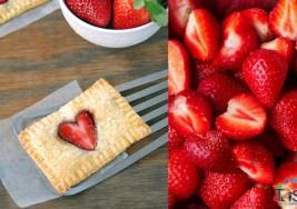 Receta: Corazones de hojaldre con fresas, empezando la semana con alegría