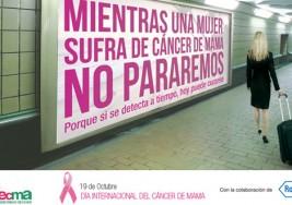 Mañana 19 de Octubre Día Internacional contra el Cáncer de mama