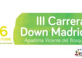 Tercera carrera Down Madrid