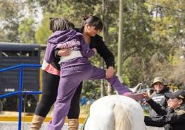 Equinoterapia, curación a caballo