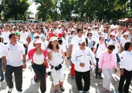 Caminaron en apoyo a pacientes con esclerosis múltiple en venezuela