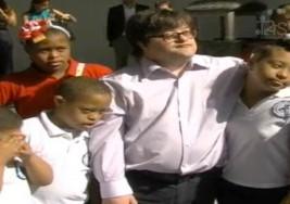 Pablo Pineda  visita la Asociación Dominicana de Síndrome de Down