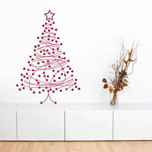 Rboles de navidad alternativos y ecol gicos todos somos uno - Arbol de navidad de pared ...