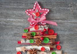 Árboles de Navidad alternativos y ecológicos