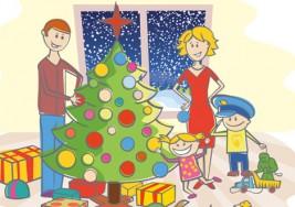 Decoración navideña casera: un asunto familiar