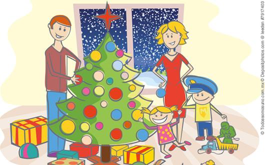 Decoraci n navide a casera un asunto familiar todos - Decoracion navidena casera ...