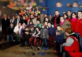 Maceda se volcó con la niña con parálisis cerebral