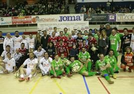 Torneo de fútbol en beneficio de la parálisis cerebral
