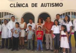DIF de San Pedro Mixtepec inaugura clínica de autismo en Puerto Escondido