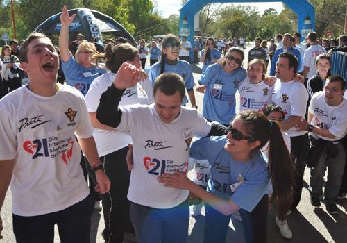 Maratón por el Día Internacional del Síndrome de Down en Argentina