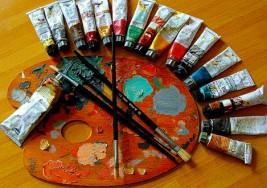 Se abrirá una exposición de los óleos pintados por niños de la Fundación Arte Down el próximo mes