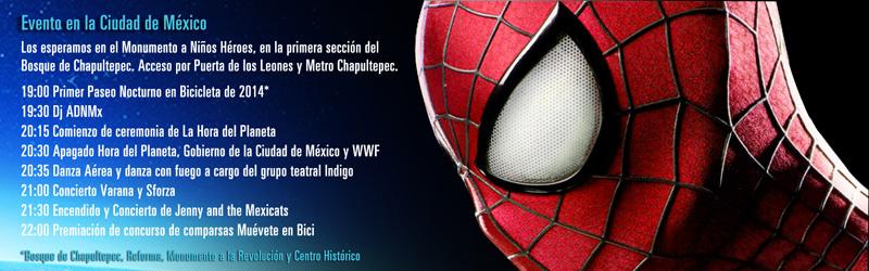 Agenda del evento para la Ciudad de México