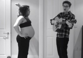 """El proceso de un embarazo en 3 minutos """"El video más tierno del año"""""""