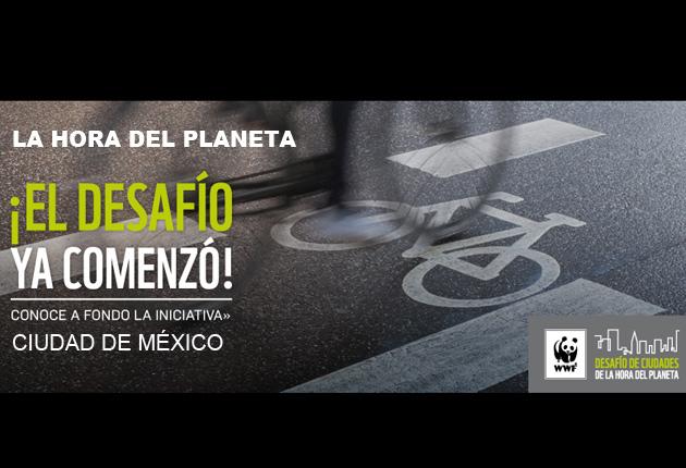 """El gobierno de la ciudad de México se une a """"La hora del planeta""""  con varias actividades"""