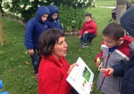 El Parque de los Sentidos se adapta a los niños con autismo mediante pictogramas