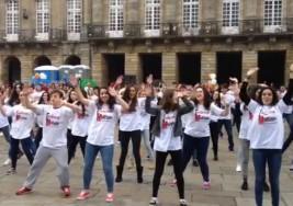 Un «flashmob» y una peregrinación en el Día Mundial de la Esclerosis Múltiple