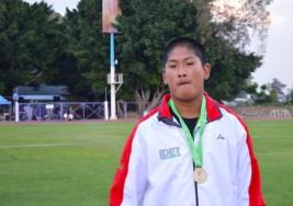 Gana Andrés Sánchez primera medalla de oro para Tlaxcala en Parálisis cerebral en la Paralimpiada