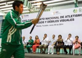 Arranca el Nacional de ciegos y débiles visuales
