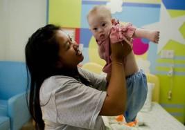 Mamá de niña con síndrome de Down dice que no lo abandonará