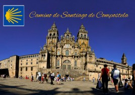 Padre de niño con autismo recorre el 'Camino de Santiago de Compostela' por su hijo