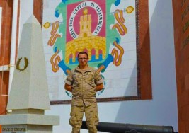 Un soldado salva a una madre y a su hijo con síndrome de Down en un incendio