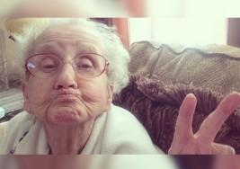 Adiós a la abuelita de Stagram