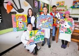 Jóvenes artistas con síndrome de Down piden ayuda para ir a desfile en EEUU