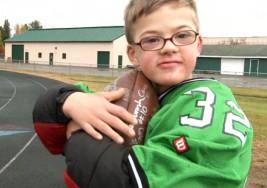 El inolvidable momento de un menor con síndrome de Down en el fútbol americano