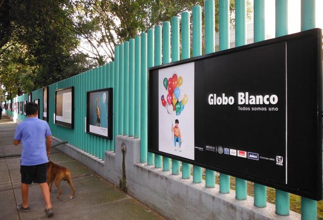 """Se presenta la exposición fotográfica """"Globo Blanco"""""""