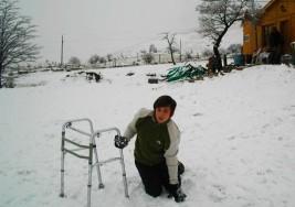 La historia de Kevin, el chico de 15 años con parálisis cerebral que volvería a caminar