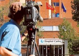 Tres nuevos ingresos por posible contagio de Ébola en observación en el Hospital Carlos III