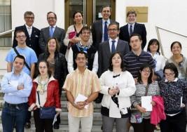 Jóvenes con síndrome de down participan en un programa de prácticas formativas