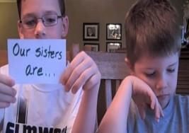 Hermanos defienden a sus hermanas con Síndrome de Down de burlas