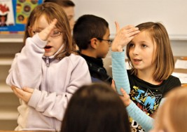 Literatura bilingüe para niños y jóvenes sordos