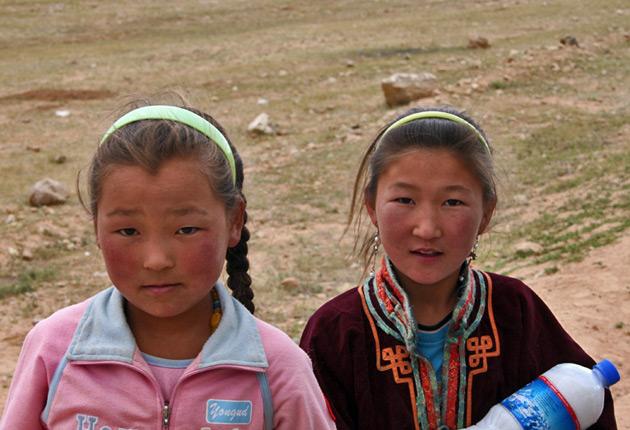 Resultado de imagen de Niños de mongolia