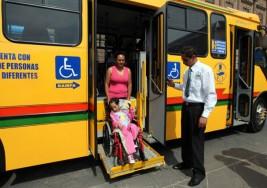 Diputada propone 50 por ciento de descuento a personas con discapacidad en transporte