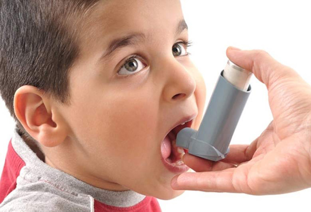Dolor de pecho y asma en los niños