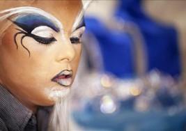 Un joven con síndrome de Down, en la Gala de Drag Queen del Carnaval
