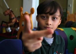 Exitoso método de enseñanza para niños con autismo