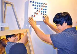 Exposición de arte para invidentes en Sonara