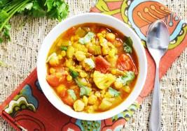 Lunes sin carne: Guisado de Vegetales con Curry
